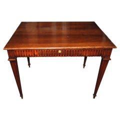 19th Century Walnut Writing Table