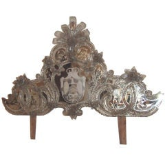 Exquisite Venetian Mirror Crown