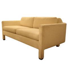Curved Sofa by Edward Wormley for Dunbar in COM