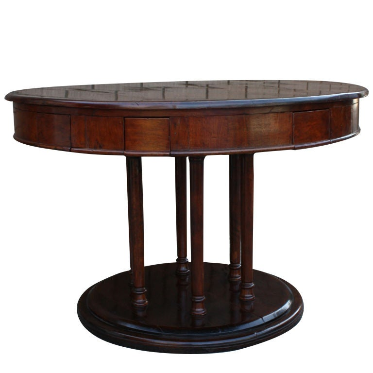 Quirky continental rent table at 1stdibs for Quirky furniture