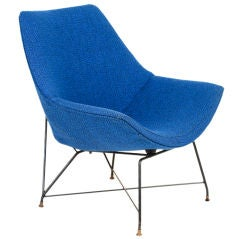 Augusto Bozzi's Kosmos Chair for Saporiti Italy, 1954