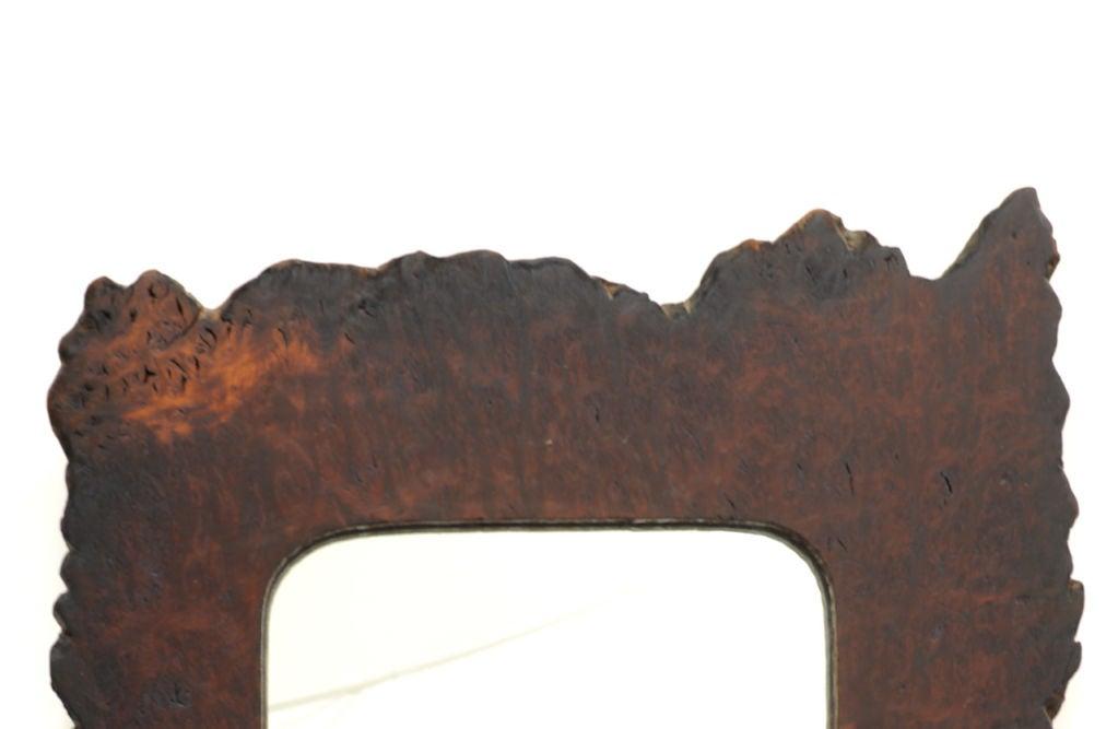 Striking Redwood Burl Mirror 2