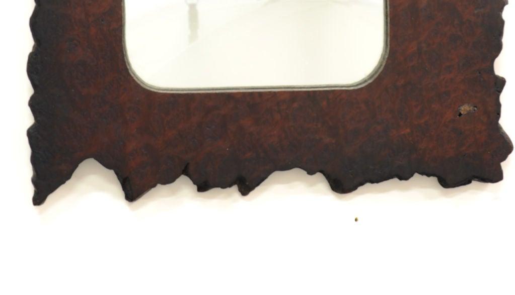 Striking Redwood Burl Mirror 3