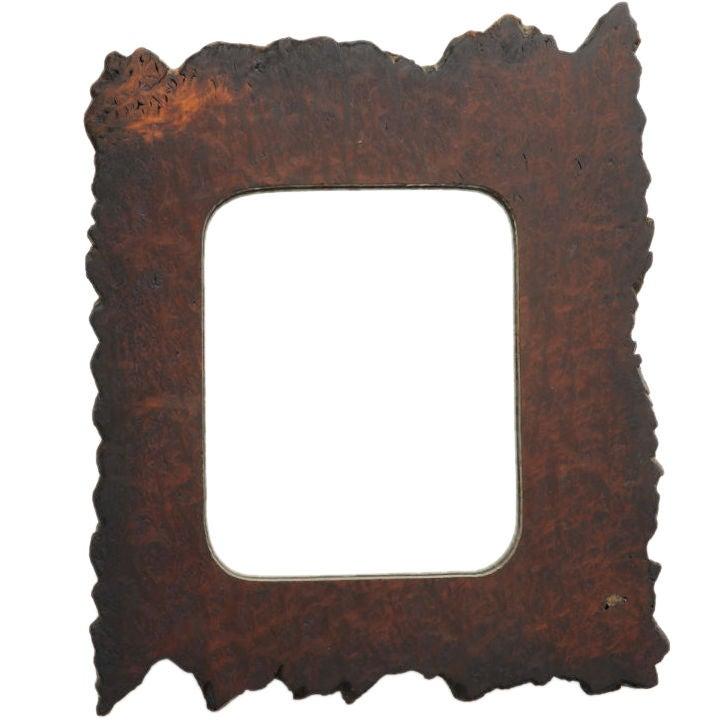 Striking Redwood Burl Mirror 1