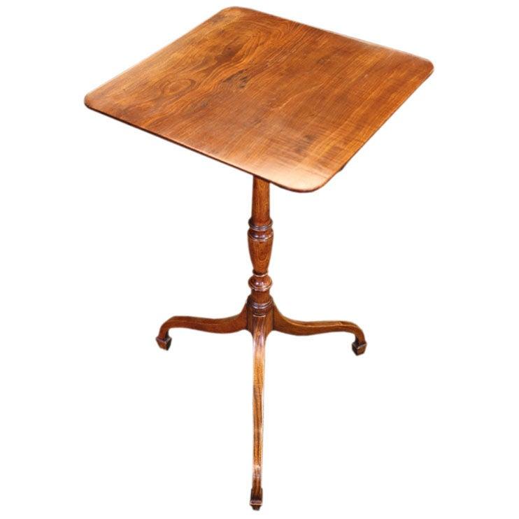elegant small regency pedestal table at 1stdibs. Black Bedroom Furniture Sets. Home Design Ideas