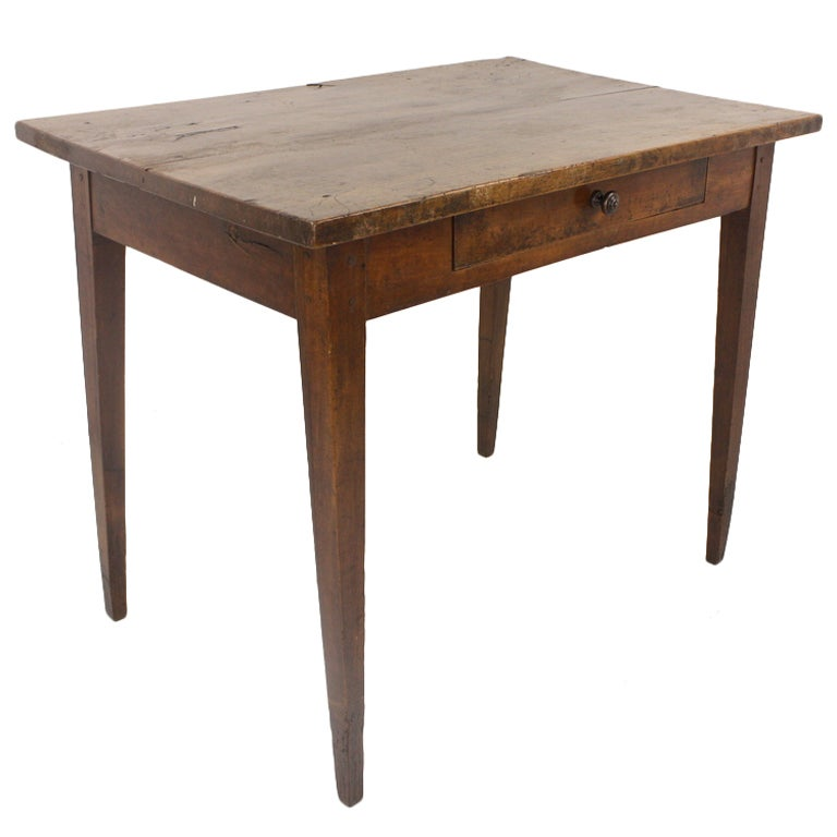 this small antique french cherry writing table is no longer available