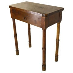 Tall French Antique Standing Work Table