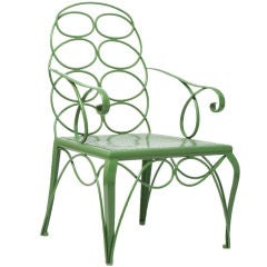 Steel Frances Elkins Chair