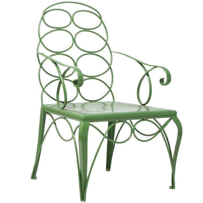 Steel Frances Elkins Chair 1