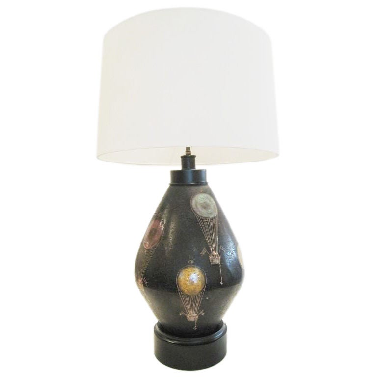 What S Hot On Pinterest Mid Century Table Lamps For Your Loft: Bitossi Stoneware Lamp At 1stdibs