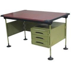 Italian Modernist Spazio Desk by Studio BBPR for Olivetti