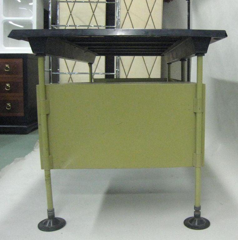 Steel Italian Modernist Spazio Desk by Studio BBPR for Olivetti For Sale