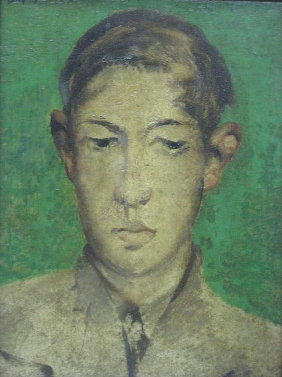 Untitled Portrait By Floris Jespers For Sale At 1stdibs