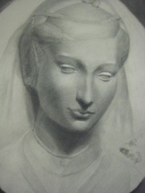 Drawing by Beeldens, Belgium, circa 1935.  References: Modern and Contemporary Art, New Objectivity, Neue Sachlichkeit.