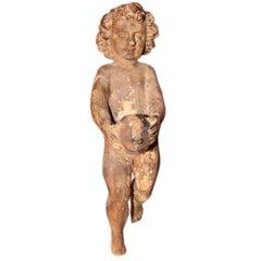 Italian Carved Cherub