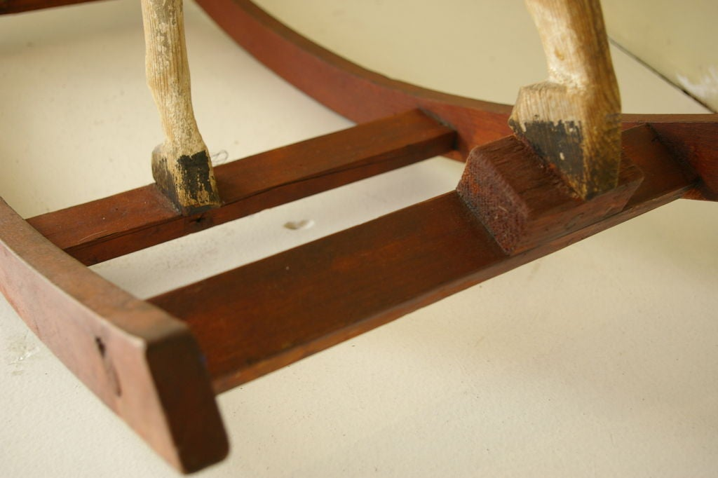 Wood 19th Century Rocking Horse