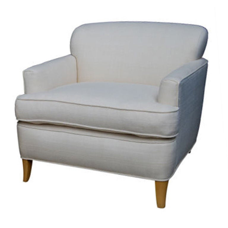 Edward wormley for dunbar club chair for sale at 1stdibs - Edward wormley chairs ...