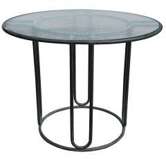 Walter Lamb Petite Bronze Dining Table