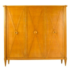 Andre Sornay Armoire in Sycamore