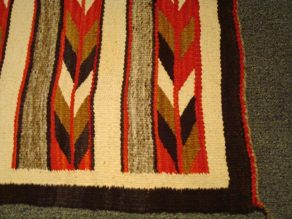 1930 1940 S Geometric Navajo Indian Weaving Rug At 1stdibs