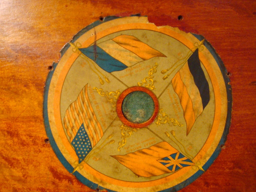 "RARE/REVERSIBLE PATRIOTIC  ""ARCHARENA COMBINATION  GAME BOARD"" image 3"