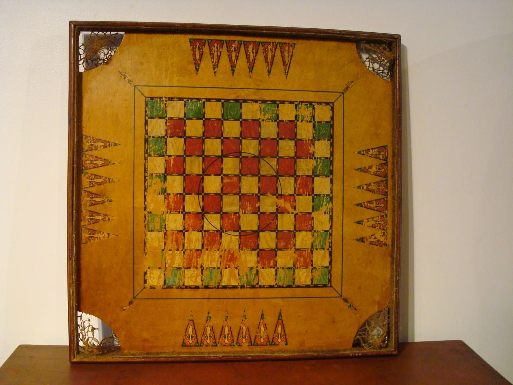 "RARE/REVERSIBLE PATRIOTIC  ""ARCHARENA COMBINATION  GAME BOARD"" image 6"