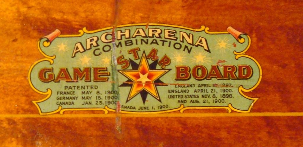 "RARE/REVERSIBLE PATRIOTIC  ""ARCHARENA COMBINATION  GAME BOARD"" image 5"