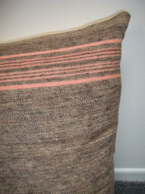 20TH C. VINTAGE WOOL BLANKET PILLOWS image 3