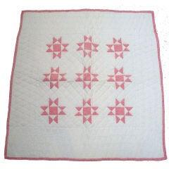 19th Century Eight Point Star Quilt