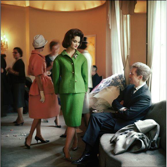 mark shaw duchess of bedford in salon of nina ricci