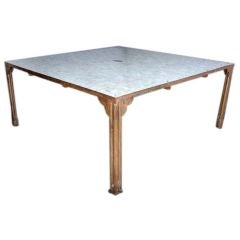 Large Tiled Moroccan Table