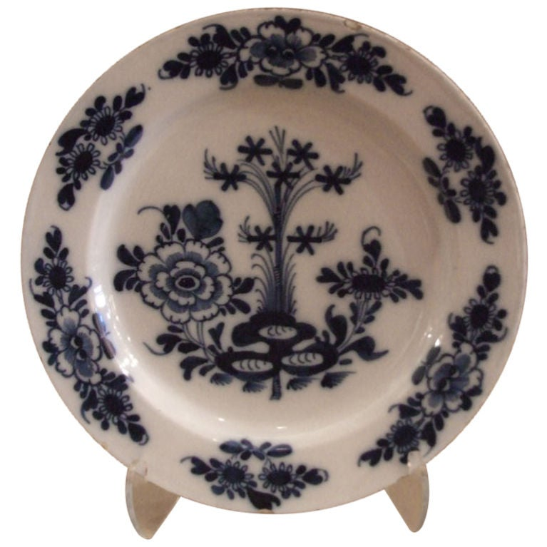 18th Century Delft Charger