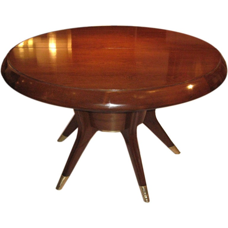 7 5 ft italian mid century modern dining table at 1stdibs for 5 foot dining room table