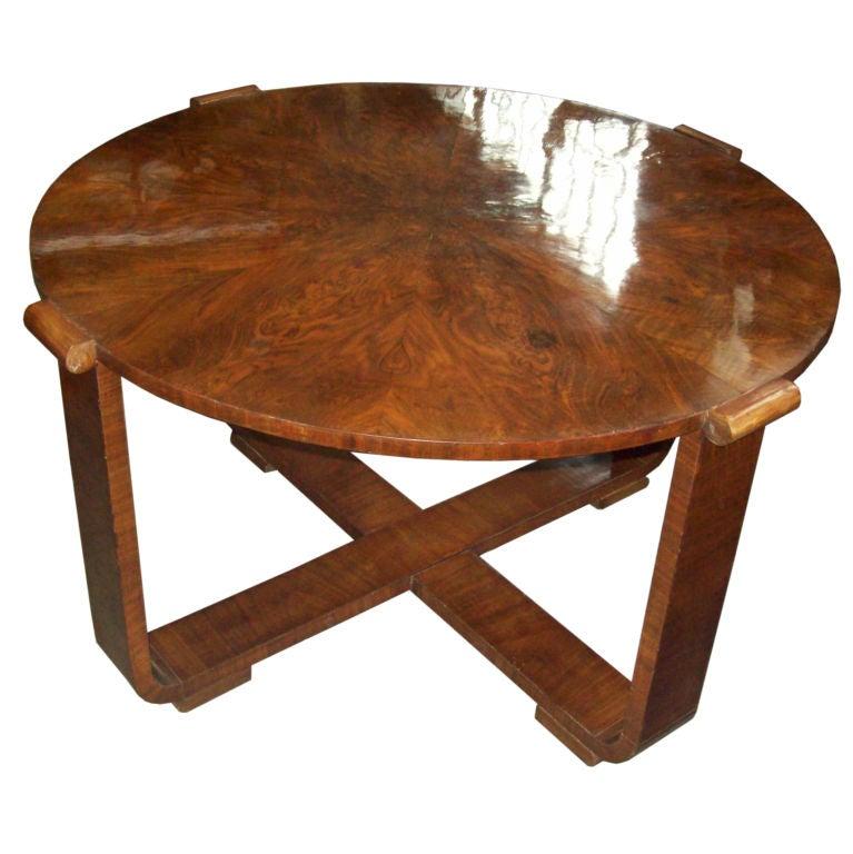Art Deco Coffee Table Brisbane: Art Deco Walnut Cocktail/Coffee Table At 1stdibs
