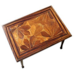 Louis Majorelle Art Nouveau Chestnut Writing Table