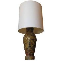 Marianna Von Allesch Paper Mache Table Lamp