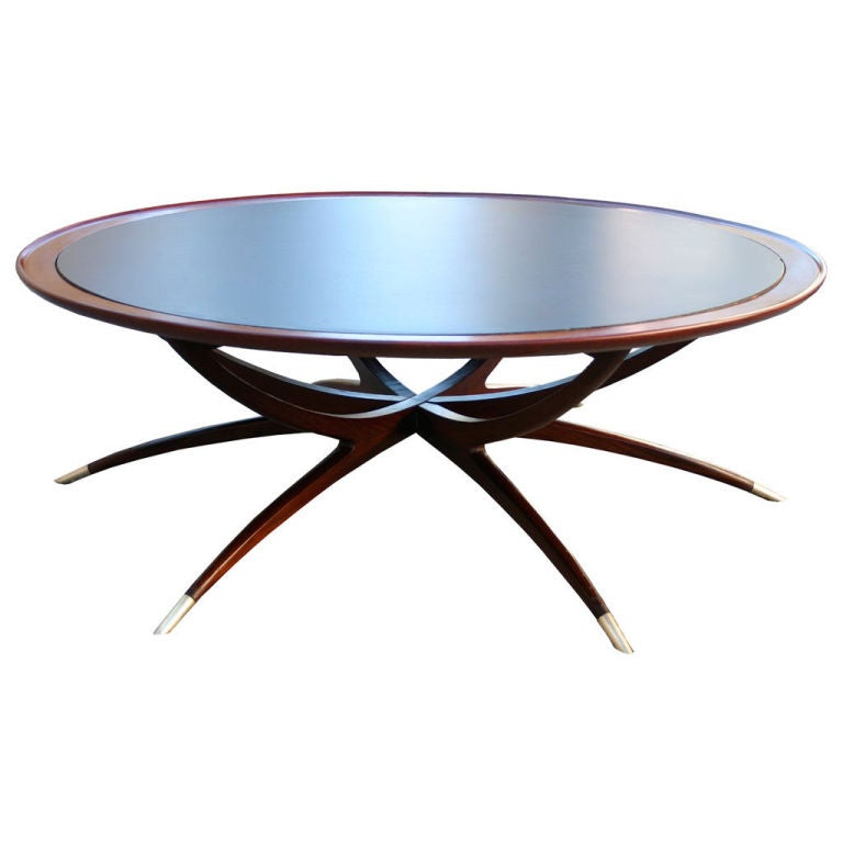 Danish collapsible coffee table at 1stdibs - Telescopic coffee table ...