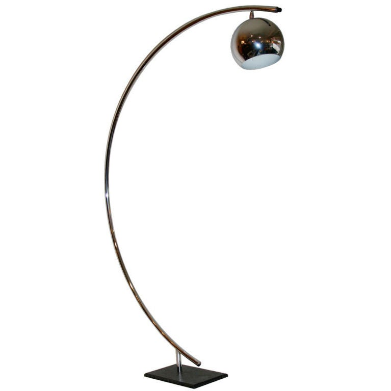 this chrome arc floor lamp is no longer available. Black Bedroom Furniture Sets. Home Design Ideas