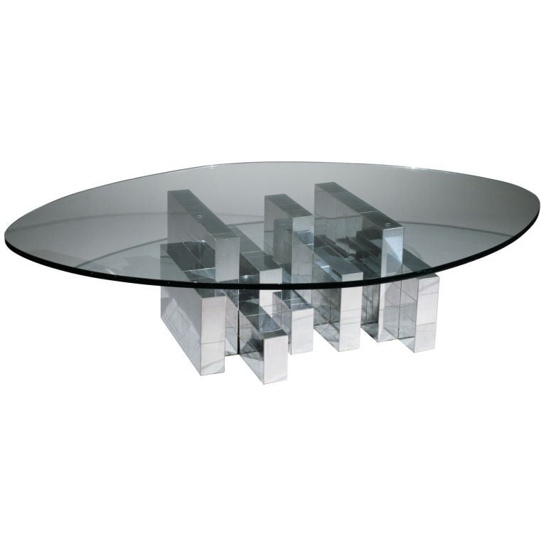 Cityscape Coffee Table by Paul Evans