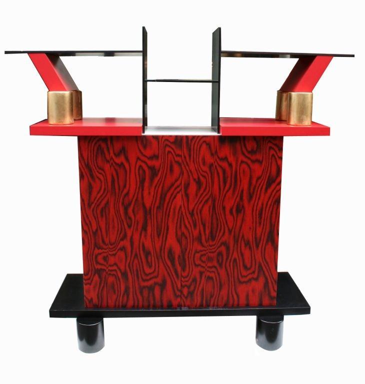 Freemont Cabinet/Console by Ettore Sottsass for Memphis 2