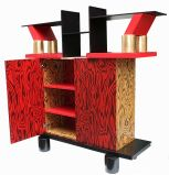 Freemont Cabinet/Console by Ettore Sottsass for Memphis image 3
