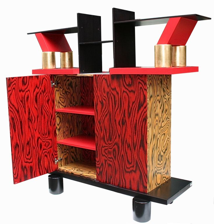 Freemont Cabinet/Console by Ettore Sottsass for Memphis 3