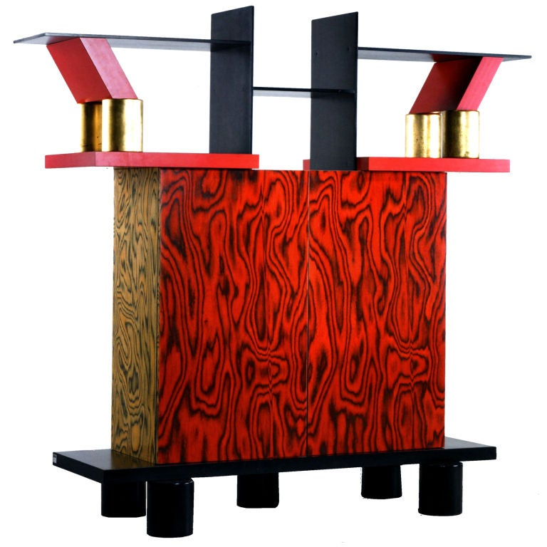 Freemont Cabinet/Console by Ettore Sottsass for Memphis 1