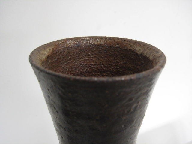 A great ceramic vessel by Frans Wildenhain.