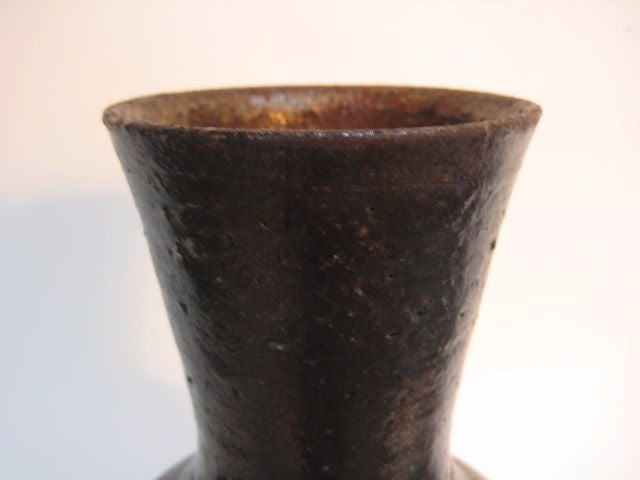 Mid-20th Century A Ceramic Vase by Frans Wildenhain For Sale