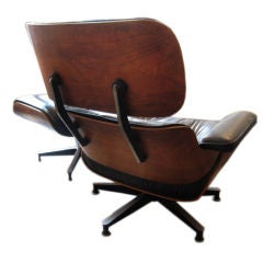 Eames Herman Miller Lounge Chair And Ottoman