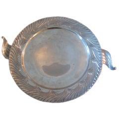 A Silver Art Deco Bowl by Alfred Kintz for International Silver