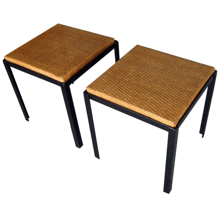 Pair Of Stools By Danny Ho Fong At 1stdibs