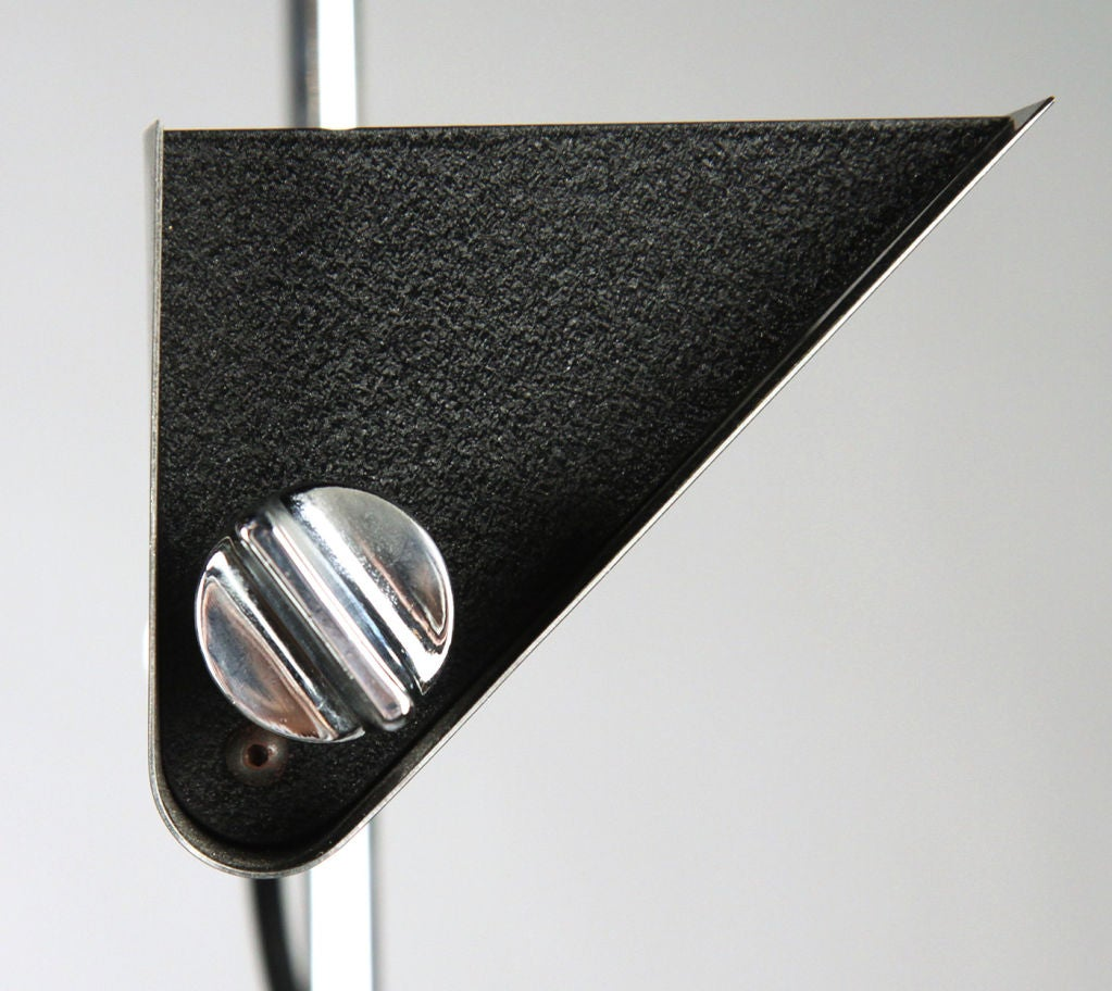 Tall adjustable halogen torchiere by arredoluce for sale for Halogen floor lamp for sale