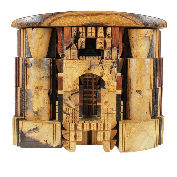 Architectural Fantasy Jewelry Box By Po Shun Leong At 1stdibs